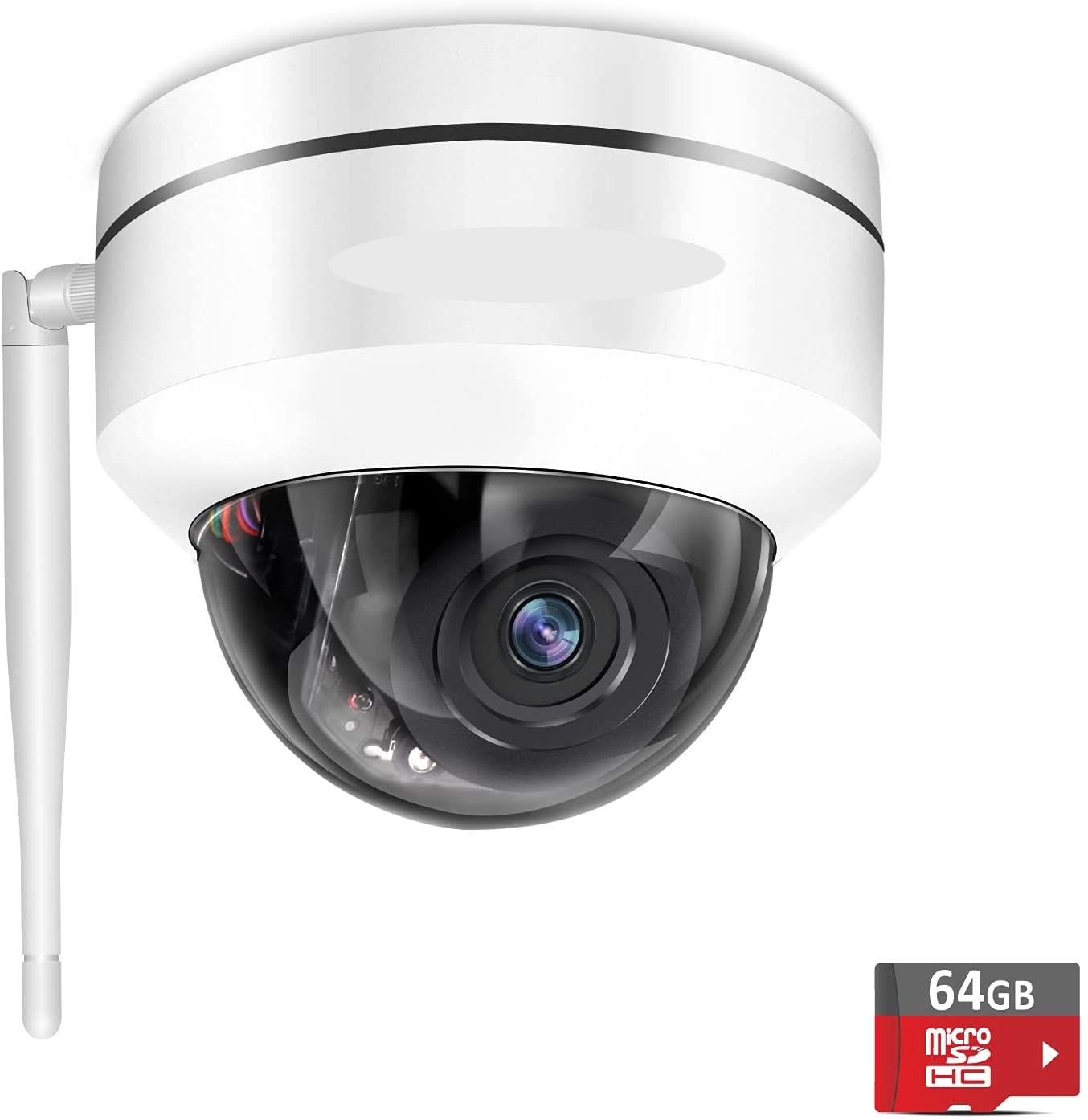 ドーム型PTZネットワークカメラ